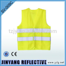 polyester knitted fabric safety vest